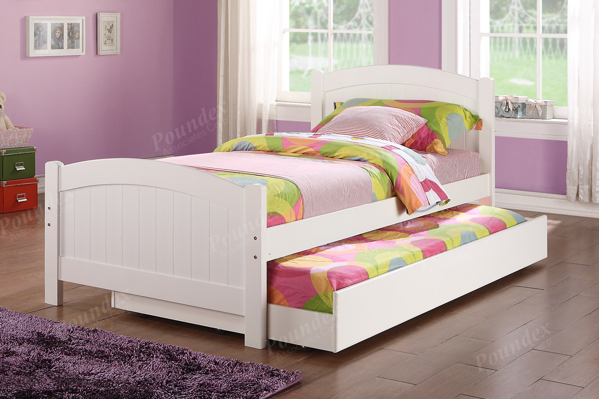 Kate Twin/ Twin Trundle Bed