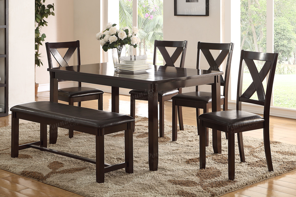 Taylor 6pc Dining Set Living Rooms Plus