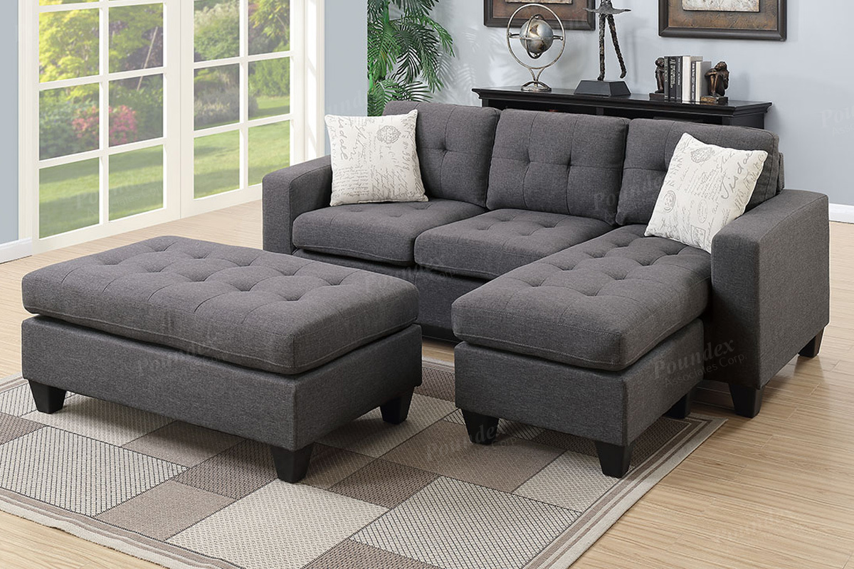 Gavin Sectional W Ottoman Living Rooms Plus