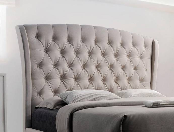 Kaitlyn Upholstered Bed Living Rooms Plus